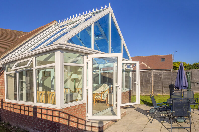 Glass Conservatory in Wakefield West Yorkshire